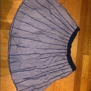 Vineyard Vine's Pleated Pin Stipe Skirt